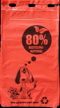 Recycling Hundekotbeutel   comodul ÖKO-PICOBELLO RED 80 - 1000 Stück