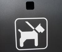 Hundekotbeutelspender Edelstahl | comodul ECO colour