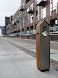 Hundetoiletten Station Edelstahl | comodul EMPIRE