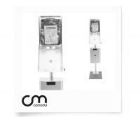 Hundetoiletten Kombination Edelstahl | comodul COMBI