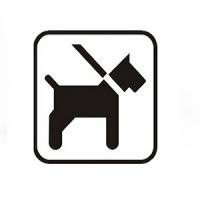comodul DOG - Piktogramm-Aufkleber Hund