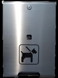 Hundekotbeutelspender Edelstahl | comodul ECO Natur