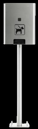 Hundetoilette Edelstahl | comodul SOLO Stand