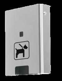 Hundekotbeutelspender Edelstahl | comodul SOLO Wall
