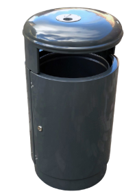 Abfallbehälter 70L - Ascher Kombination | comodul STABILO RAL