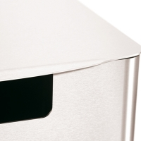 comodul CLEAN Stand - Abfallbehälter Edelstahl