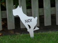 comodul STICK | Steckschild kein Hundeklo